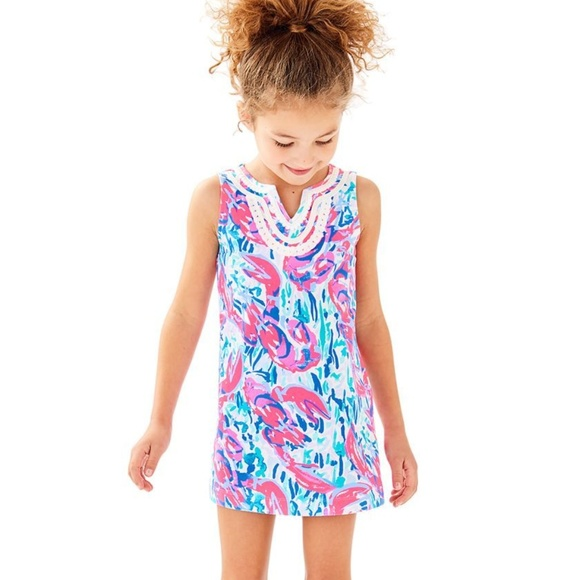 6dd7cd537cfa7d Girls Lilly Pulitzer Mini Harper Shift Dress Sz L.  M_5bef1c38e944ba68b4dd28b8